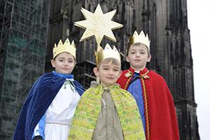 Eröffnung der Sternsingeraktion im Kölner Dom