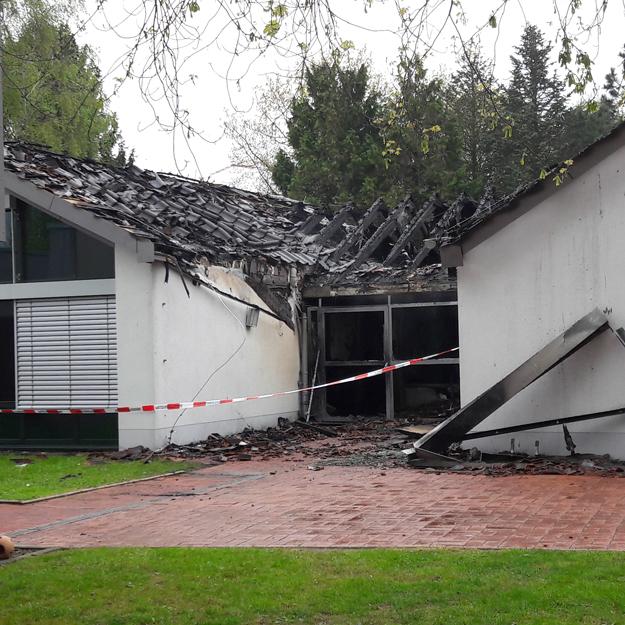 Brand im Familienzentrum St. Martinus