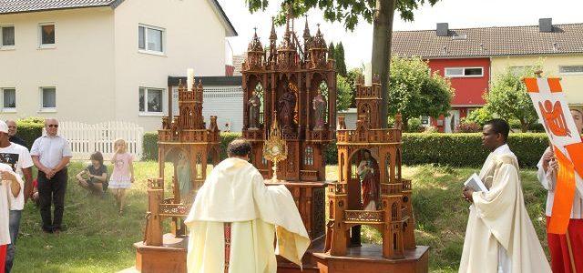 Pfarrfest 2017 und Fronleichnamsprozession in Mülldorf