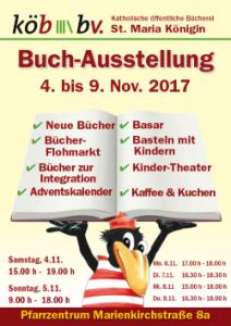 Buch-Ausstellung 2017 der KöB MK