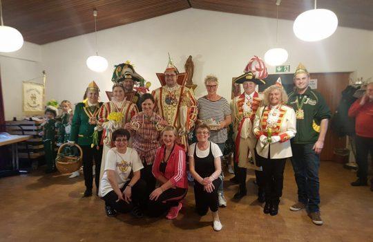 Seniorenkarneval in Mülldorf 2018