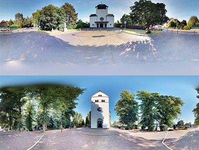 Virtuelle Rundgänge durch 2 Kirchen des Seelsorgebereichs