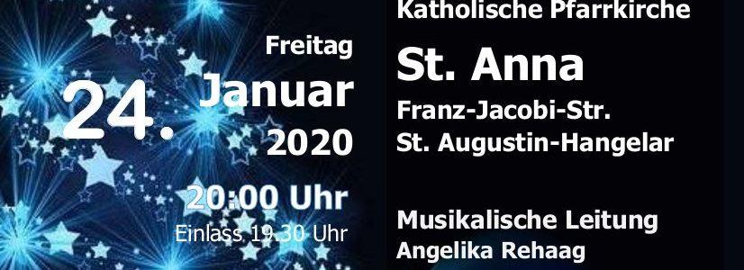Einladung zum Gospelkonzert in St. Anna