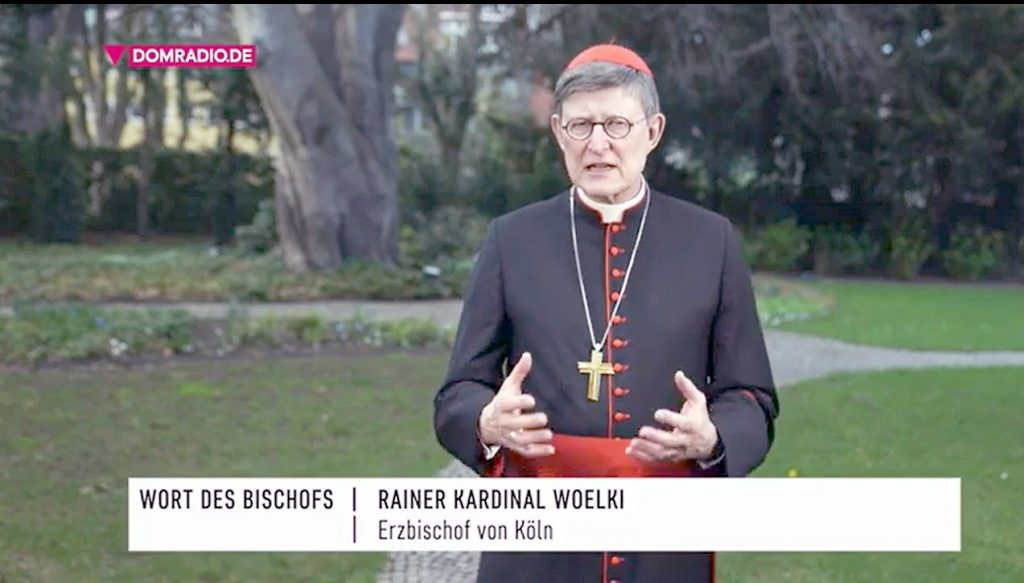 Videobotschaft von Kardinal Woelki und tägliches Glockenläuten