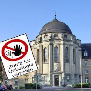 Steyler Kloster bis Ostern geschlossen