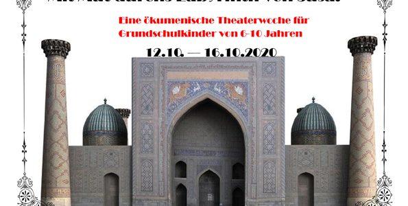 Einladung zur ökumenischen Theaterwoche für Grundschulkinder