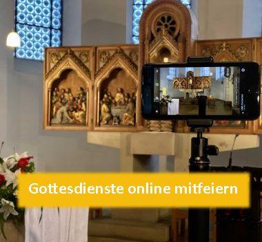 Gottesdienst Live-Übertragung