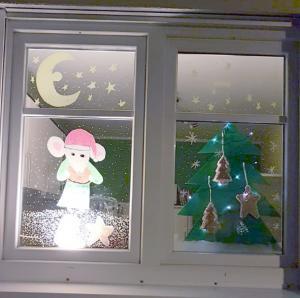 Meindorfer Adventsfenster 04 - Die Weihnachtsmaus