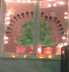 Meindorfer Adventsfenster 10 - Wie wir in Bullerbü Weihnachten feiern